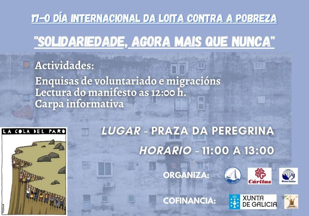 Día Internacional da Loita Contra a Pobreza