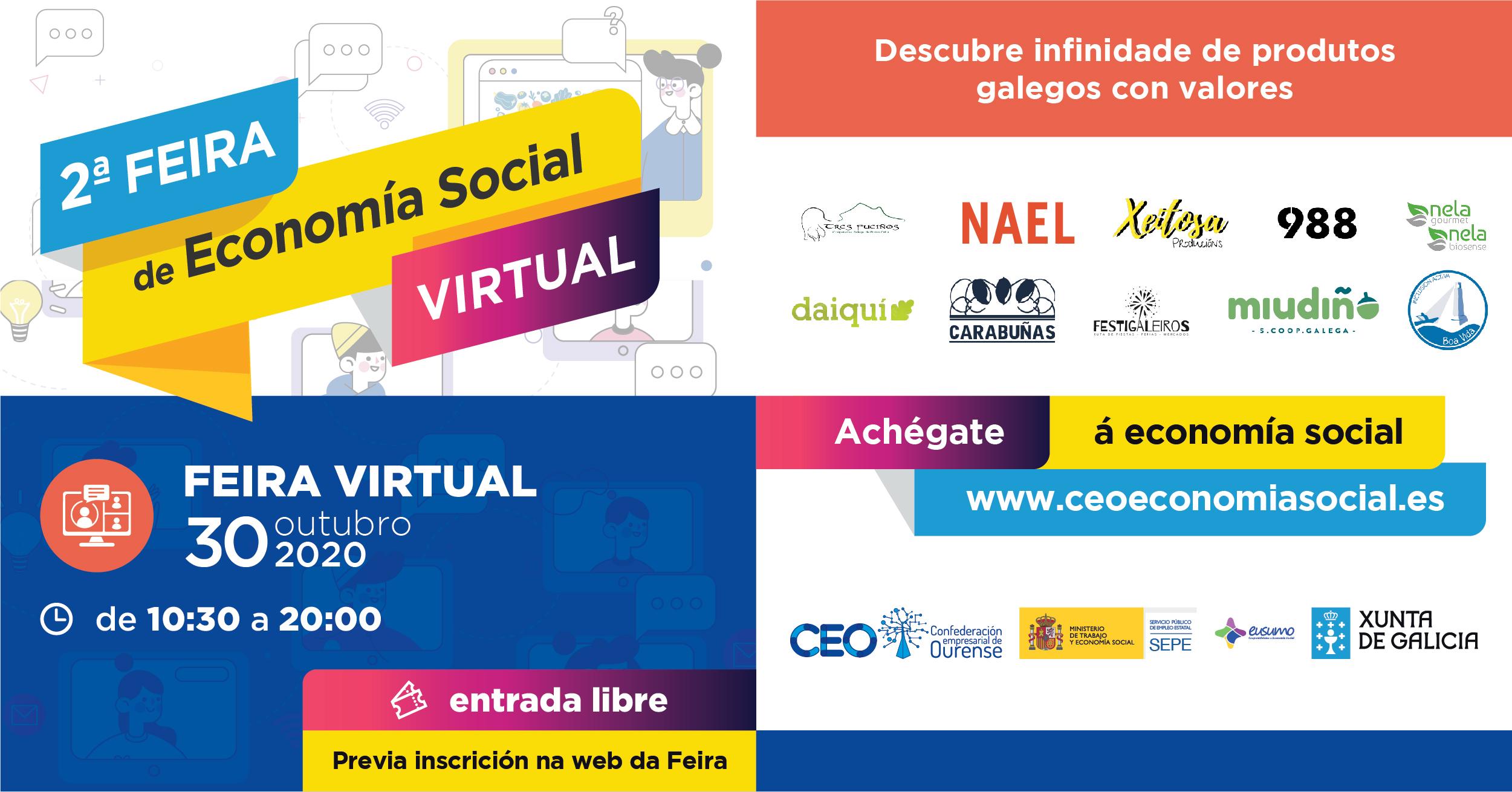 2ª Feira de Economía Social Virtual